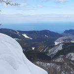 山頂から見る三瀬地区
