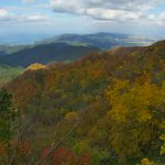 二口登山道からの景色