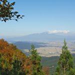 獅子畑登山道からの庄内平野